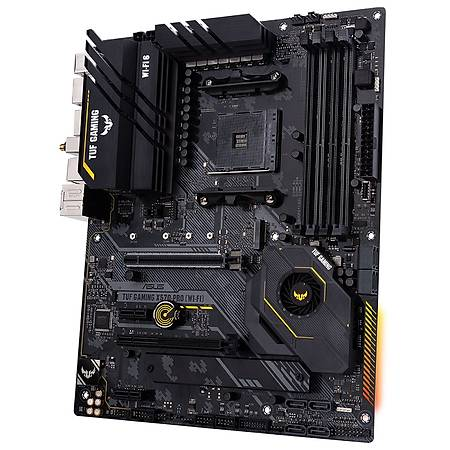 ASUS TUF GAMING X570-PRO DDR4 4666MHz (OC) DP HDMI 2xM.2 USB 3.2 AURA RGB ATX AM4