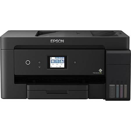 Epson L14150 Fotokopi Tarayýcý Fax Renkli Wi-Fi A3+ Tanklý Yazýcý