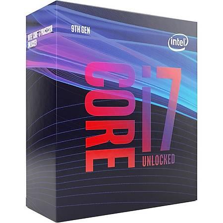 Intel Core i7 9700K Soket 1151 3.6GHz 12MB Cache Ýþlemci