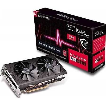 SAPPHIRE Radeon RX580 PULSE 8GB 256Bit GDDR5