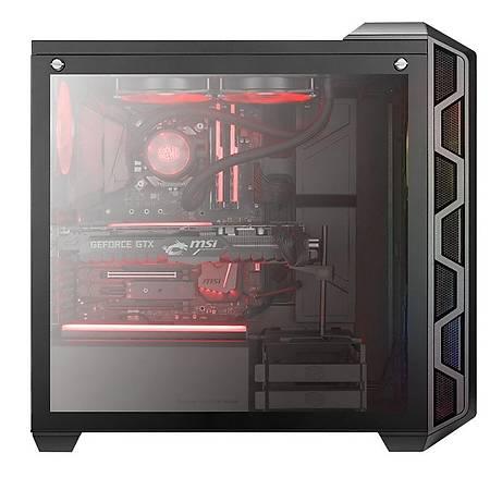 Cooler Master MasterCase H500 TG 750W 80+ Akrilik Mesh Panel ARGB 1x120mm 2x200mm Fanlý MidTower Kasa