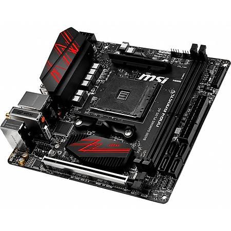 MSI B450I GAMING PLUS AC DDR4 3466MHz (OC) HDMI DP WIFI mini-ITX AM4
