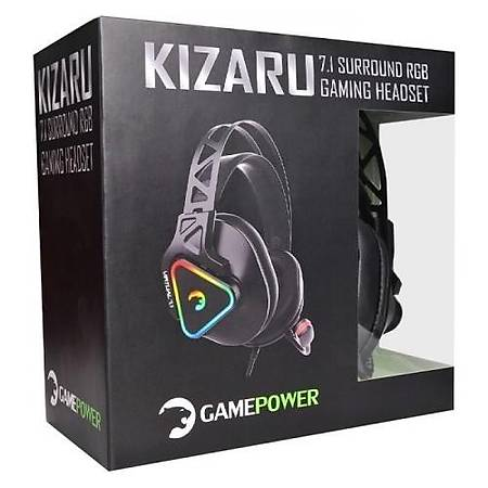 GamePower Kizaru RGB 7.1 Surround Siyah Gaming Kulaklýk
