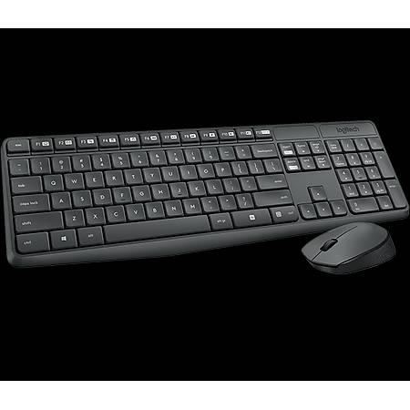 Logitech MK235 Kablosuz Klavye Mouse Set 920-007925