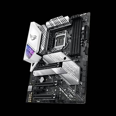 ASUS ROG STRIX Z490-A GAMING DDR4 4800MHz (OC) HDMI DP TYPE-C M.2 RGB USB 3.2 ATX 1200p