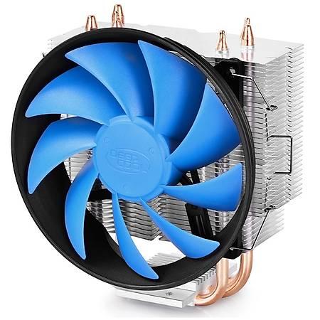 Deep Cool Gammaxx 300 120x25mm Fanlý AMD Intel Uyumlu Ýþlemci Soðutucusu