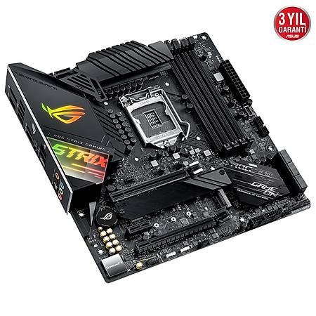 ASUS ROG STRIX Z490M-G GAMING DDR4 4600MHz (OC) HDMI DP TYPE-C M.2 RGB USB 3.2 mATX 1200p