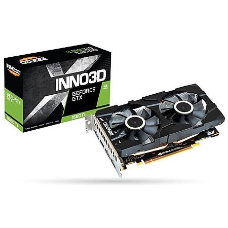 Inno3D GeForce GTX 1660 Ti Twin x2 6GB 192Bit GDDR6