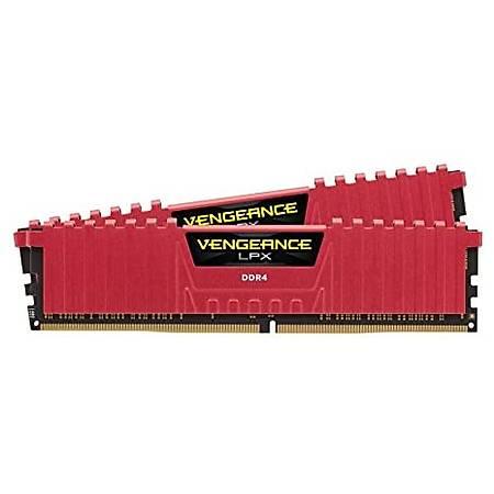 Corsair Vengeance LPX 32GB (2x16GB) DDR4 3200MHz CL16 Kýrmýzý Ram