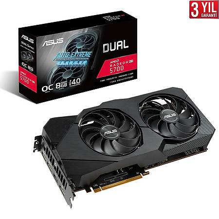 ASUS Dual Evo Radeon RX 5700 OC 8GB 256Bit GDDR6