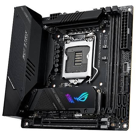 ASUS ROG STRIX Z590-I GAMING DDR4 5000MHz HDMI M.2 USB3.2 Thunderbolt Wi-Fi Mini-ITX 1200p