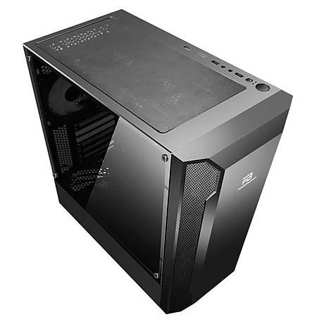 Power Boost VK-G3701B 550W 80+ Mesh Panel ARGB Fan Strip Siyah ATX Kasa