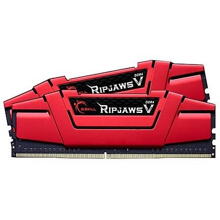 GSKILL Ripjaws V 16GB (2x8GB) DDR4 3000MHz Kýrmýzý CL16 Ram