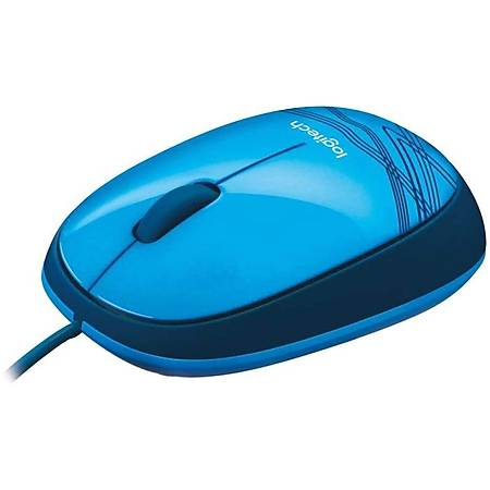 Logitech M105 Kablolu Optik Mouse Mavi 910-003114