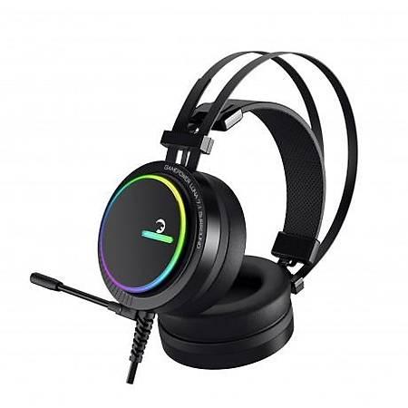 Gamepower Luna 7.1 Pro RGB Gaming Kulaklýk Siyah
