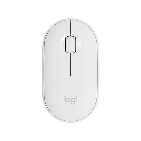 Logitech Pebble M350 Graphite Beyaz Kablosuz Mouse 910-005716