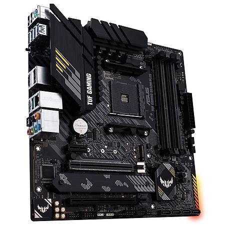 ASUS TUF GAMING B550M-PLUS DDR4 4400MHz (OC) HDMI DP TYPE-C M.2 USB3.2 AURA RGB mATX AM4