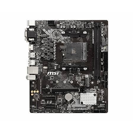 MSI B450M PRO-M2 MAX DDR4 4133MHz (OC) VGA DVI HDMI GLAN SATA 6GB/S M.2 USB3.1 mATX AM4