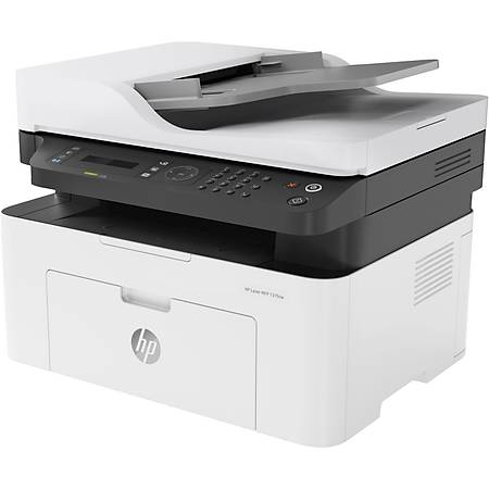 HP LaserJet 137FNW Fotokopi Tarayýcý Faks Wi-Fi Lazer Yazýcý 4ZB84A