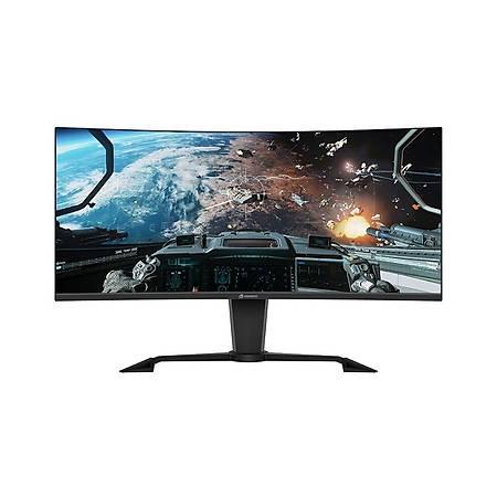 GameBooster GB-347LCWQ-H 34 3440x1440 144Hz Hdmý Dp 1ms Curved Gaming Monitör
