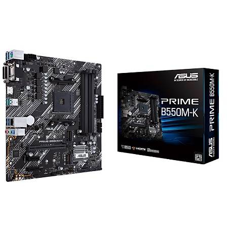 Powered By ASUS B550M-K Ryzen 5 3600 16GB 480GB SSD 6GB GeForce RTX 2060 550W PSU