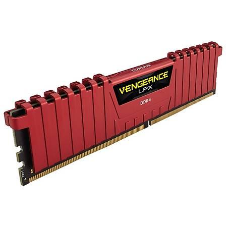 Corsair Vengeance LPX 16GB (2x8GB) DDR4 3000MHz CL15 Kýrmýzý Ram