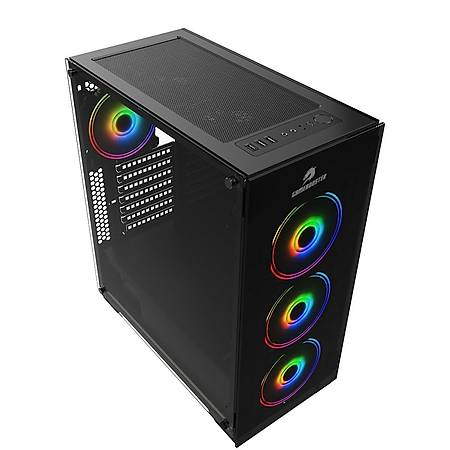 GameBooster GB-PE05B 600W 80+ Tempered Cam Siyah MidTower Kasa