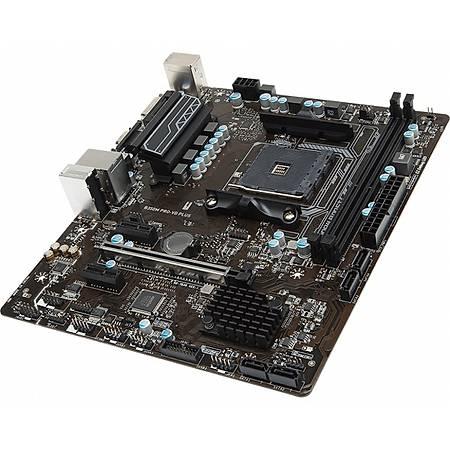 MSI B350M PRO-VD PLUS DDR4 3200MHz (OC) DVI VGA USB 3.1 mATX AM4