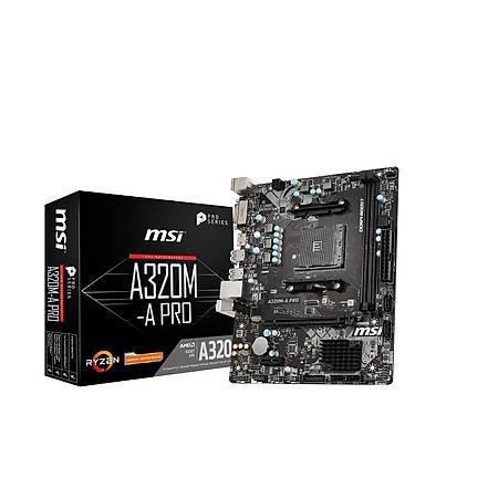 Powered By MSI A320M-A PRO MAX Ryzen 5 3600 16GB 240GB SSD 4GB GeForce GTX 1050Ti 550W PSU