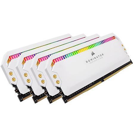 Corsair Dominator Platinum Rgb 64GB (4x16GB) DDR4 3200MHz CL16 Beyaz Ram