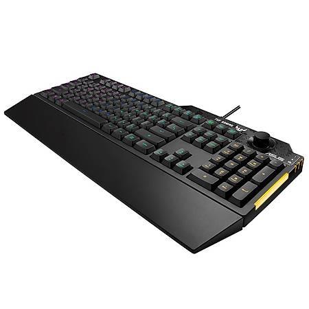 Asus TUF Gaming K1 Mech-Brane RGB Mekanik Gaming Klayve