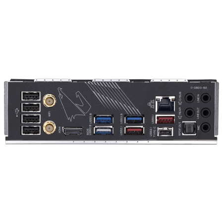 GIGABYTE X570 AORUS ULTRA Wi-Fi DDR4 5100MHz (OC) HDMI TYPE-C M.2 USB 3.2 ATX AM4