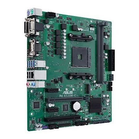 ASUS PRO A520M-E DDR4 4400MHz HDMI DVI VGA M.2 USB 3.2 mATX AM4