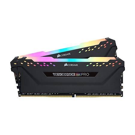 Corsair 16GB (2x8GB) Vengeance RGB Pro DDR4 3600MHz CL18 Siyah Dual Kit Ram