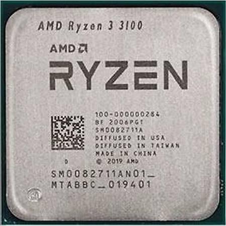 AMD Ryzen 3 3100 Soket AM4 3.6GHz 18MB Cache Ýþlemci Kutusuz