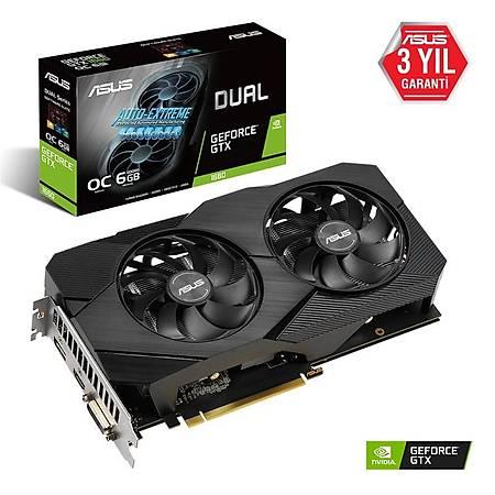 ASUS Dual GeForce GTX 1660 6GB OC Edition EVO 192Bit GDDR5