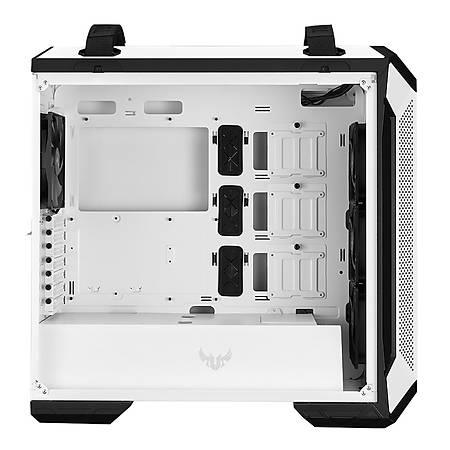 Asus TUF Gaming GT501 Temperli Cam MidTower Beyaz Kasa PSU Yok