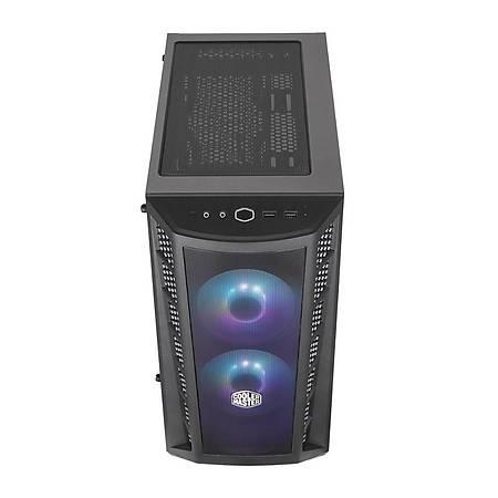 Cooler Master MasterBox MB311L 600W Tempered Pencereli Mesh Panel RGB 3x120mm Fanlý m-ATX MidTower Kasa