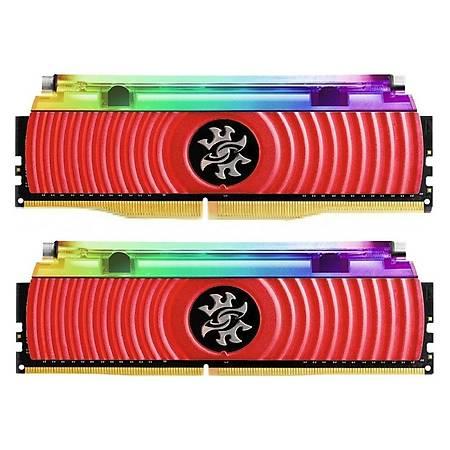 XPG 16GB (2x8GB) Spectrix D80 Liquid Cooling DDR4 3200MHz CL16 Kýrmýzý Ram