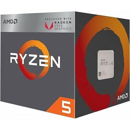 AMD Ryzen 5 Pro 3400G Soket AM4 3.7GHz 4MB Cache Ýþlemci Kutusuz