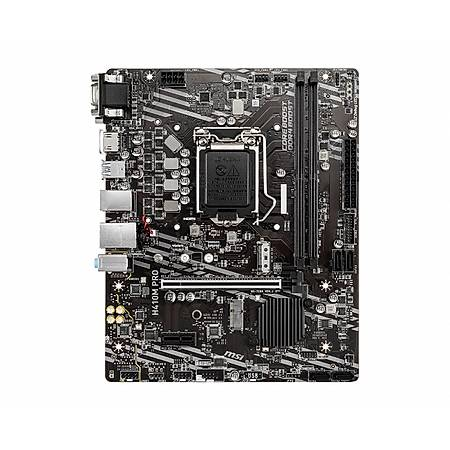 MSI H410M-PRO DDR4 2933MHz VGA DVI HDMI USB 3.1 mATX 1200p