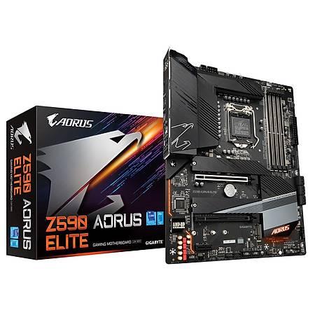 GIGABYTE Z590 AORUS ELITE DDR4 5400MHz (OC) DP M.2 USB3.2 RGB ATX 1200p
