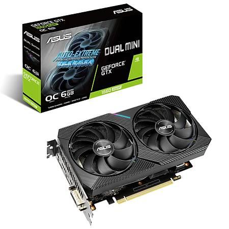 ASUS Dual GeForce GTX 1660 SUPER MINI OC Edition 6GB 192Bit GDDR6