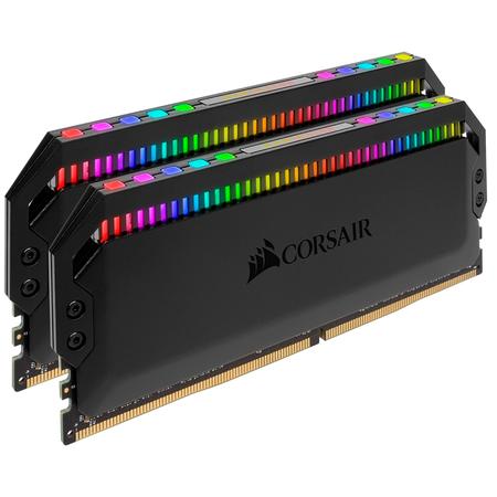 Corsair Dominator Platinum Rgb 32GB (2x16GB) DDR4 3600MHz CL18 Siyah Soðutuculu Dual Kit Ram
