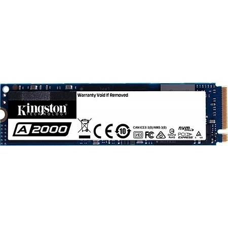 Kingston A2000 500GB NVMe M.2 SSD Disk SA2000M8/500G