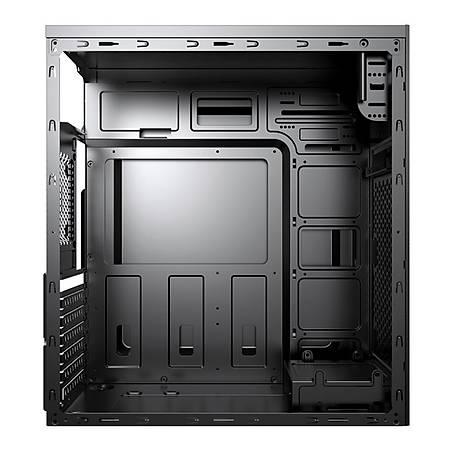 PowerBoost VK-G3615C Mesh Panel Siyah ATX Kasa PSU Yok