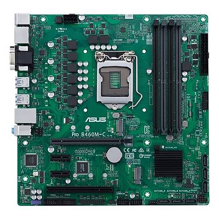ASUS PRO B460M-C/CSM DDR4 2933MHz VGA HDMI DP M.2 mATX 1200p