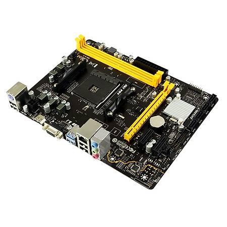 Biostar A320M-H DDR4 2933MHz (OC) VGA HDMI mATX AM4