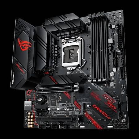 ASUS ROG STRIX B460M-G GAMING DDR4 2933MHz HDMI DP TYPE-C RGB M.2 mATX 1200p