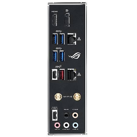 ASUS ROG STRIX H470-I GAMING DDR4 2933MHz DP HDMI 2xM.2 USB 3.2 Wi-Fi AURA RGB mATX 1200p